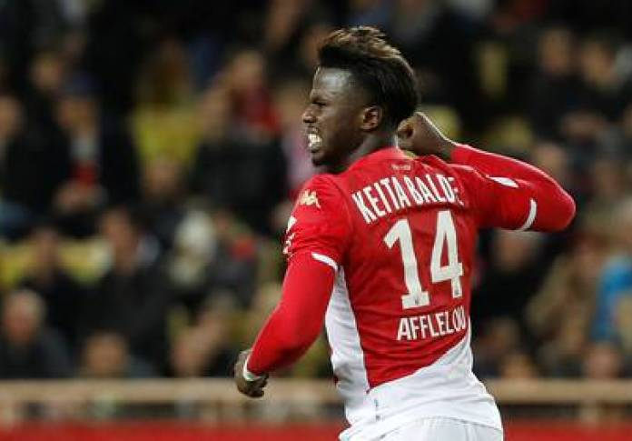 Keita Baldé is a figure in Monaco, France (REUTERS / Eric Gaillard)