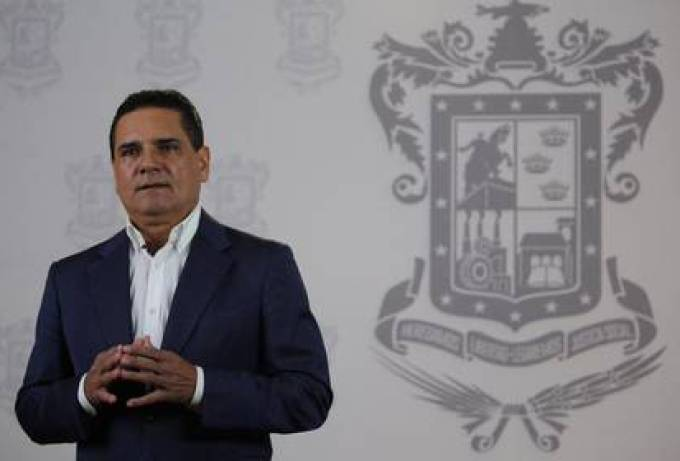 Silvano Aureoles Conejo, governor of Michoacán, indicated that he was not notified of the change in the headquarters of the Monarcas team (Photo: Twitter @ Silvano_A)