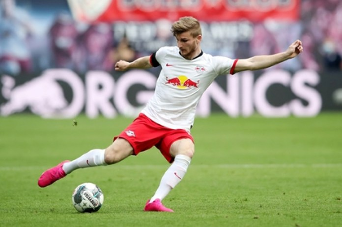 Timo Werner is one of the Bundesliga's top scorers (REUTERS)