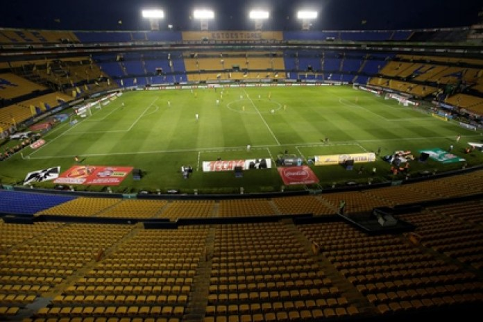 The only Mexican team that announced its return to the preseason at the moment is that of Tigres de la UANL, which has been doing so virtually since June 2. (Photo: Reuters / Daniel Becerril)