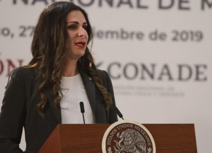 Ana Gabriela Guevara (Photo: Andrea Murcia / Cuartoscuro)