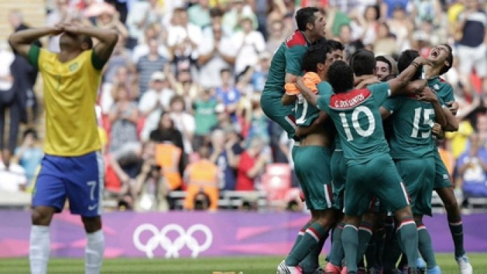 Mexico beat Brazil 2-1 in that final of London 2012 (Photo: Special)