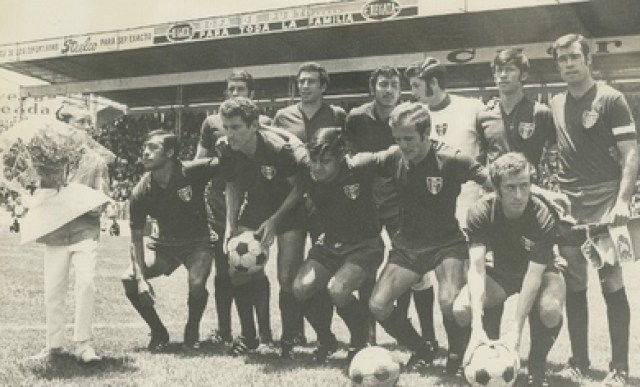 The scorer of Mexico in that edition was Javier Valdivia (Photo: Courtesy Universidad Iberoamericana)