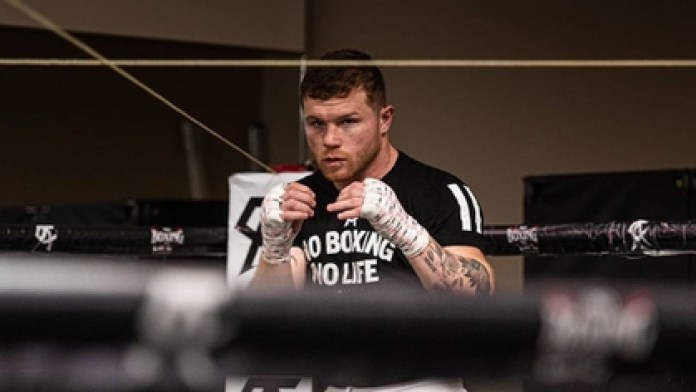 Saúl Álvarez would return to the ring in September and the fights would be without an audience (Photo: Instagram / canelo)