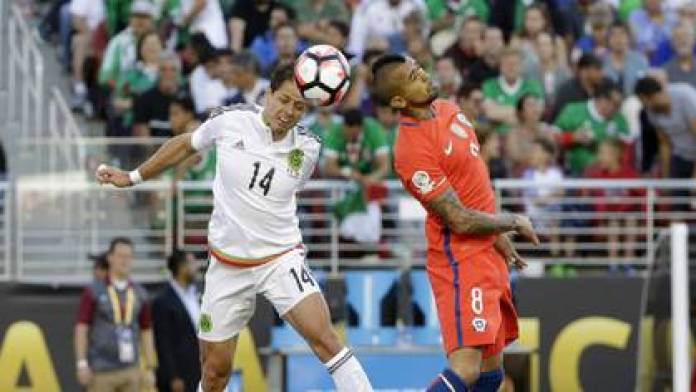 The 7-1 loss to Chile in 2016 was Mexico's last game in a Copa América (Photo: AP)