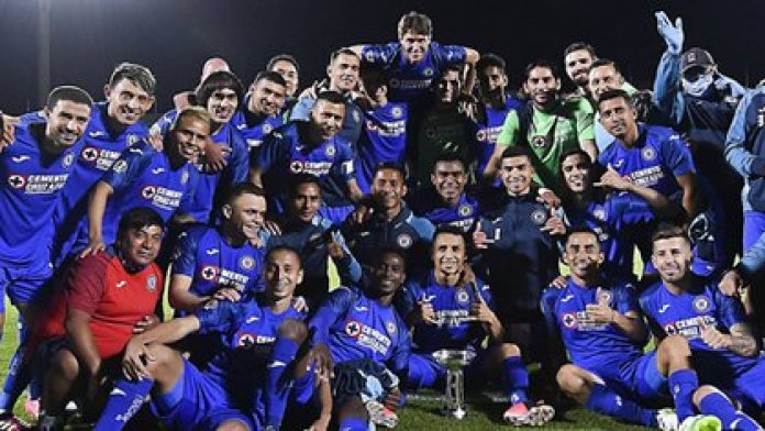 Cruz Azul was crowned champion of the Cup by Mexico (Photo: Twitter / @LigaBBVAMX)