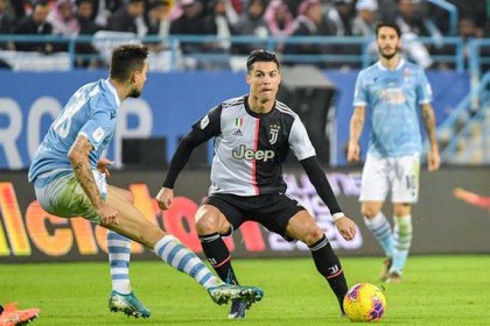 12/22/2019 Cristiano Ronaldo at Juventus - Lazio SPORTS - / Saudi Press Agency / dpa