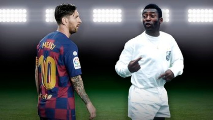 Messi is nine goals away from equaling Pelé as the top scorer in a single club