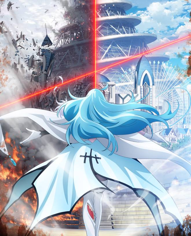 A new teaser is published for the original anime Vivi -Fluorite Eye's Song- - Anime news - anime premieres 2022 - watch anime online
