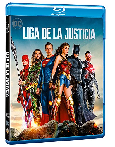 Justice League Blu-Ray [Blu-ray]