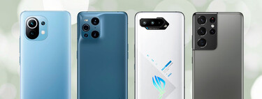 The best mobiles of the year (2021): their analysis and videos are here