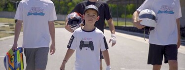 The 'new' Fernando Alonso is ten years old and does not drive real cars, but in an esports team