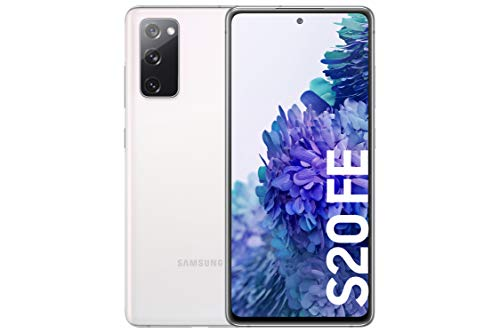 Samsung Galaxy S20 FE 4G - Smartphone Android Libre, 128 GB, Color Blanco [Versión española]
