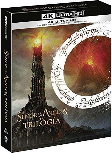 The Lord of the Rings trilogy extended version 4k UHD [Blu-ray]