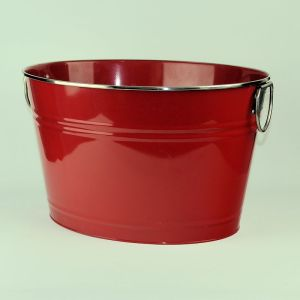 Red Beverage Tub Beverage Bucket