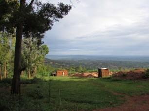 Somewhere overlooking Kigali