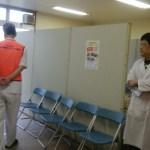 富士見 健康まつり 会場設営