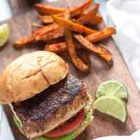 Blackened Mahi Mahi Sandwich