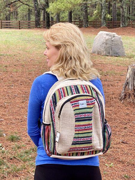 Himalayan Hemp Rasta Backpack