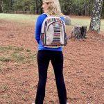 Hemp MultiColor Handmade Backpack