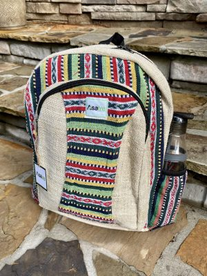 Himalayan Hemp Multi Color Backpack