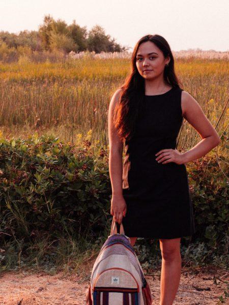 Hemp Black Dress