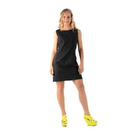 Hemp Black Linen Dress