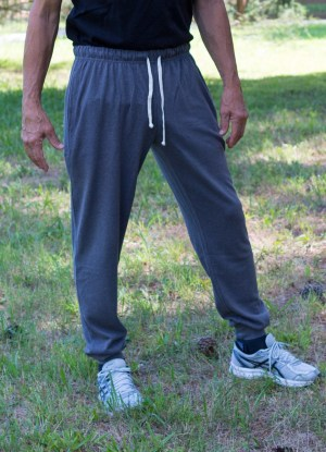 Men's Gray Hemp Joggers