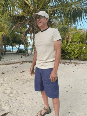 Hemp and Cotton Tan T-Shirt