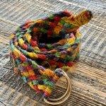 Hemp Boho Hemp Belt Braided Multicolor