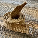 Handmade Himalayan Hemp Plain Woven Belt