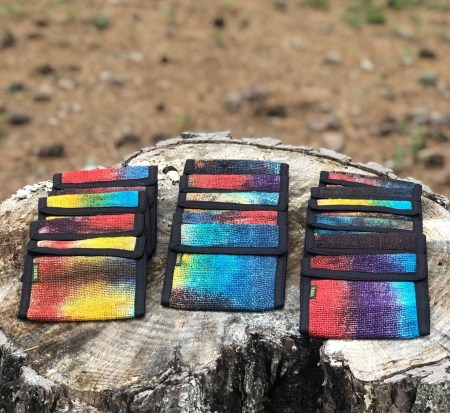 Himalayan Hemp Wallets - Tie Dye