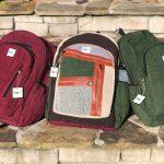 Hemp Backpack Multi Color Casual
