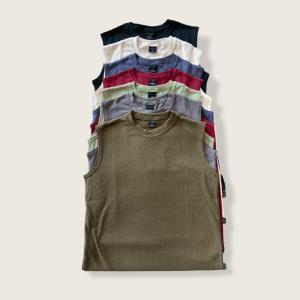 Hemp and Organic Cotton Sleeveless Muscle Shirts