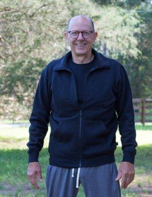 Hemp and Organic Cotton Fleece Jacket
