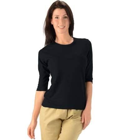 Hemp and Organic Cotton Three Quarter Sleeve Shirt