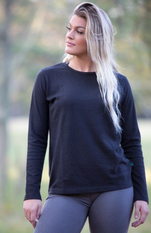 Women's Hemp and Organic Cotton Long Sleeve Shirt