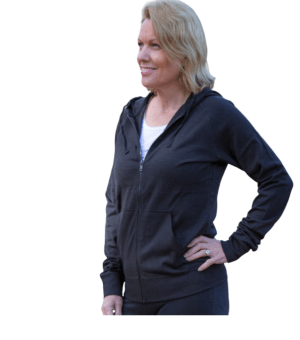 Eco-friendly Hemp and Organic Cotton Zip Hoodie