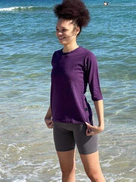 Asatre 3/4 Sleeve Hemp Shirt