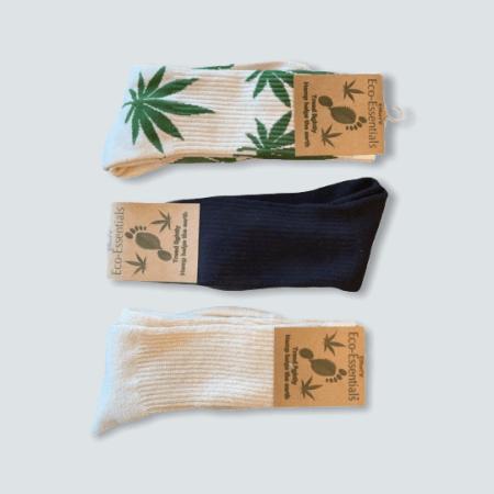 Women's Hemp and Organic Gift Sock Box