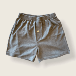 Hemp and Organic Cotton Boxers by Asatre - Gray