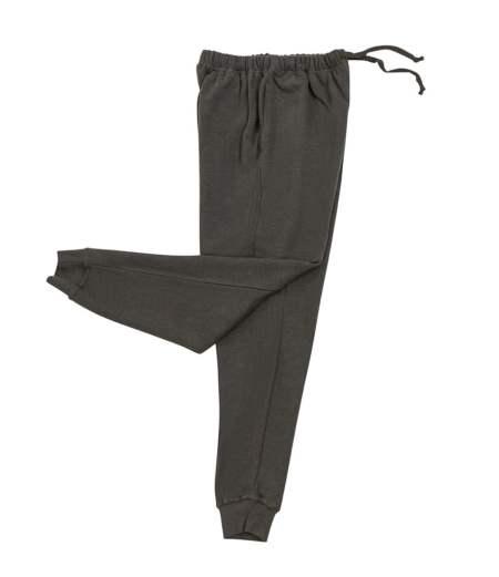 Women's Hemp and Organic Cotton Fleece Joggers - Gray