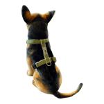 Hemp Dog Harness - Green