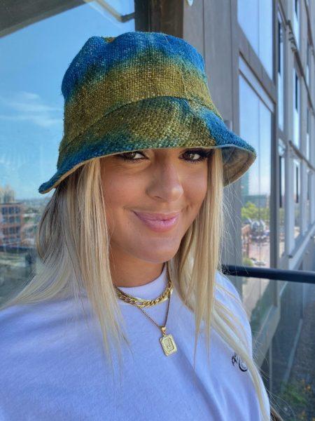 Asatre Hemp Tie Dye Bucket Hat