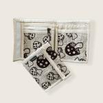 Hemp Bi-Fold Wallet - Mushroom