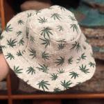 Hemp Leaf Sun Hat