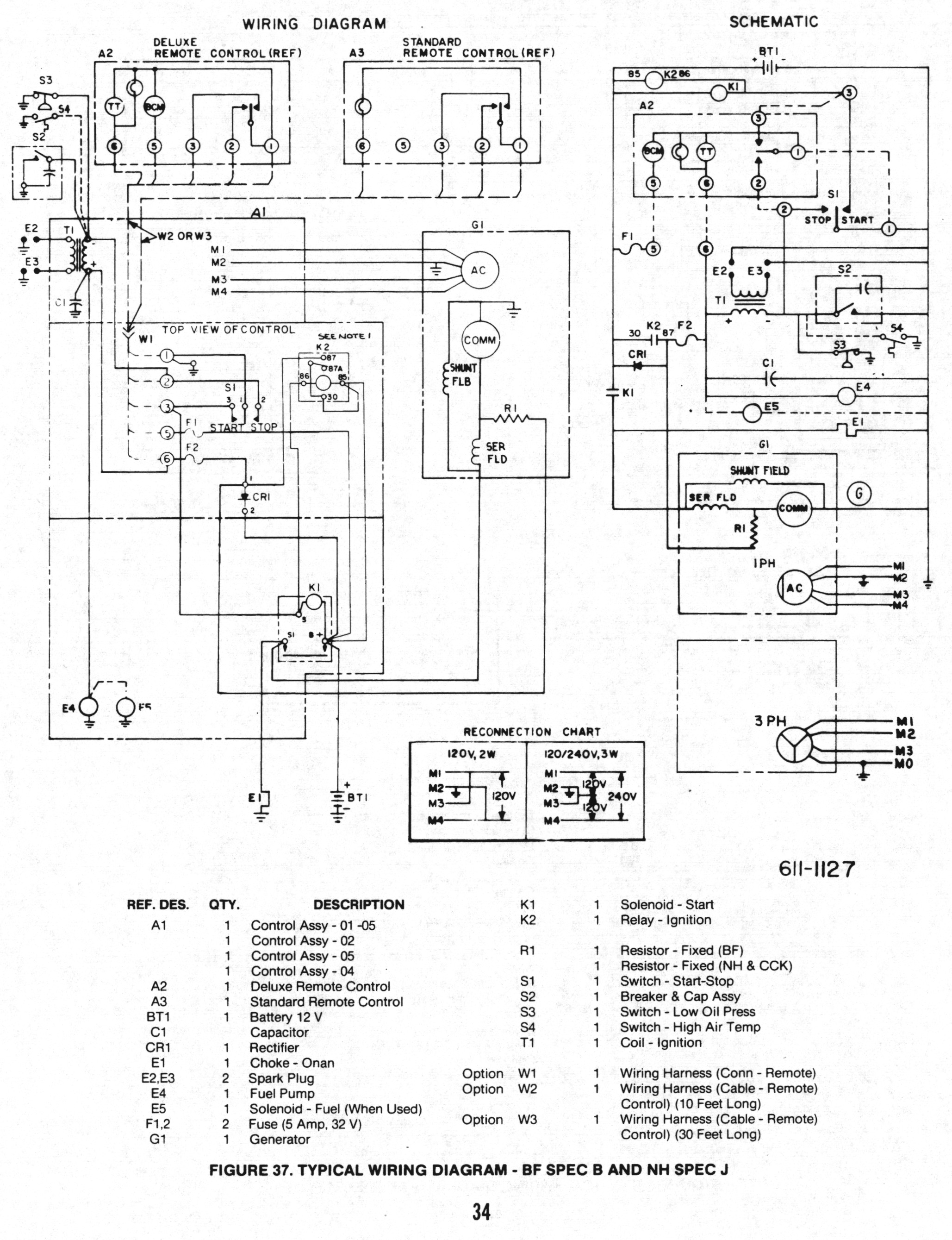 Wiring Diagram For Onan Generator
