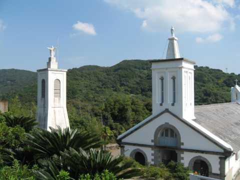 A church in Sotome, near Nagasaki.