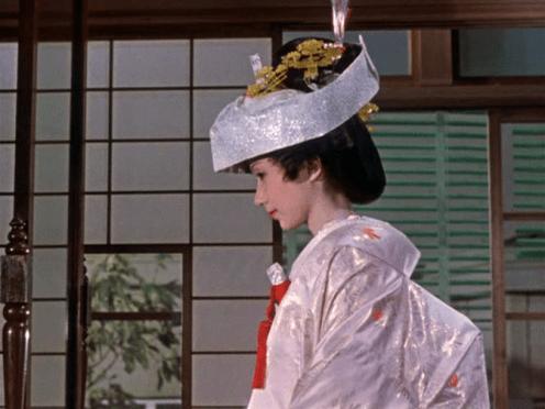 Shima Iwashita in Sanma no aji (1962)