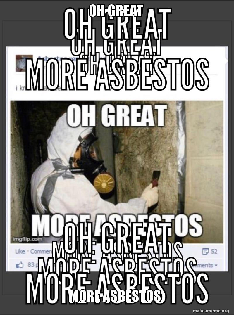 The u/particularspare3434 community on reddit. All About Asbestos Meme Reddit | Asbestos Meaning